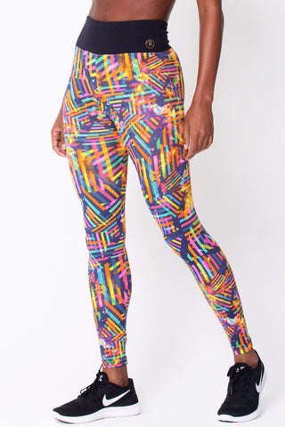 Bottoms,Geometric Graphic Print