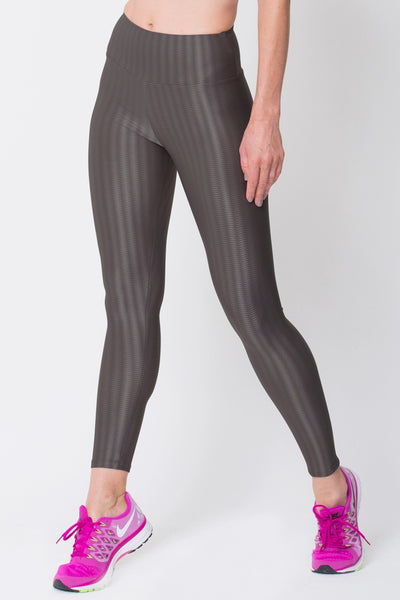 Bottoms Graphite 3D Disco Leggings - Womens Activewear and Workout Clothes | RomanceUSA
