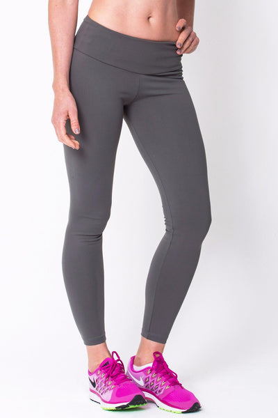 Bottoms Graphite Active Legging - Womens Activewear and Workout Clothes | RomanceUSA