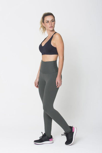 Bottoms Graphite High Up Legging - Womens Activewear and Workout Clothes | RomanceUSA