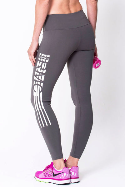 Bottoms Graphite RMC Legging - Womens Activewear and Workout Clothes | RomanceUSA