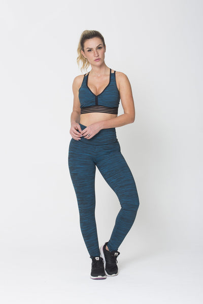Bottoms Green Run On Legging - Womens Activewear and Workout Clothes | RomanceUSA