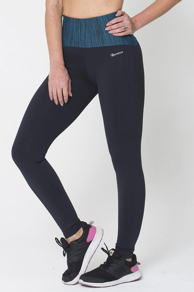 Bottoms Green Waist Legging - Womens Activewear and Workout Clothes | RomanceUSA