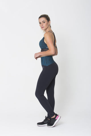 Bottoms,Green Waist Legging