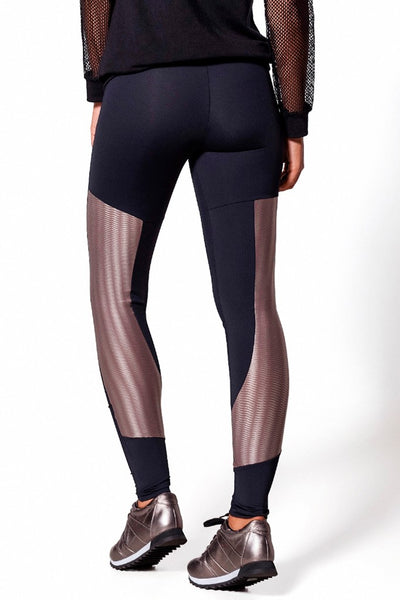 Bottoms 3D Back Detail Legging - Womens Activewear and Workout Clothes | RomanceUSA