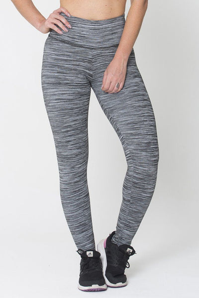 Bottoms Grey Run On Legging - Womens Activewear and Workout Clothes | RomanceUSA