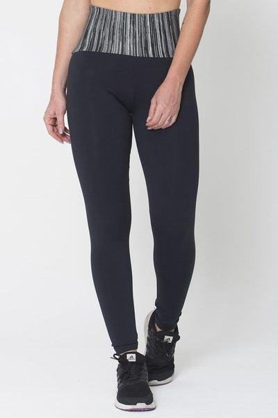 Bottoms Grey Waist Legging - Womens Activewear and Workout Clothes | RomanceUSA