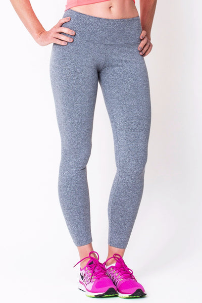 Bottoms Heather Grey Active Legging - Womens Activewear and Workout Clothes | RomanceUSA