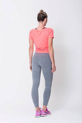 Bottoms,Heather Grey Active Legging