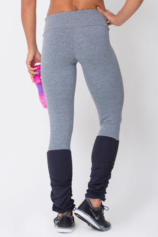 Bottoms,Heather Grey Legwarmer Legging