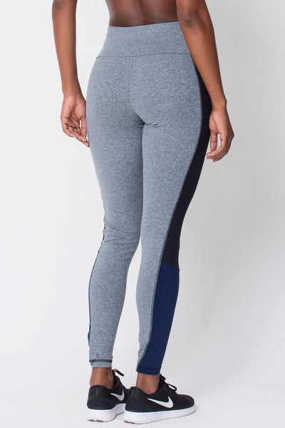 Bottoms Heather Grey Contrast Legging - Womens Activewear and Workout Clothes | RomanceUSA