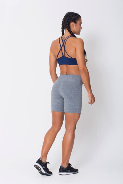 Bottoms Heather Grey Dream Shorts - Womens Activewear and Workout Clothes | RomanceUSA