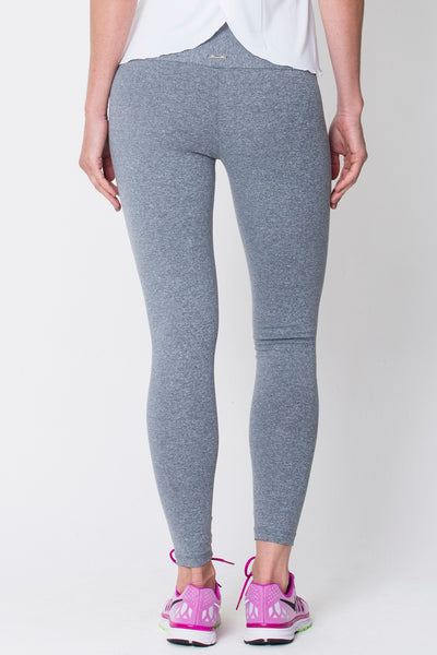 Bottoms Heather Grey High Up Legging - Womens Activewear and Workout Clothes | RomanceUSA