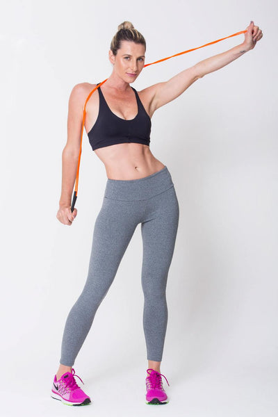 Bottoms Heather Grey RMC Legging - Womens Activewear and Workout Clothes | RomanceUSA