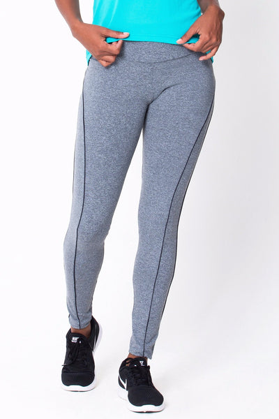 Bottoms Heather Grey Viva Legging - Womens Activewear and Workout Clothes | RomanceUSA