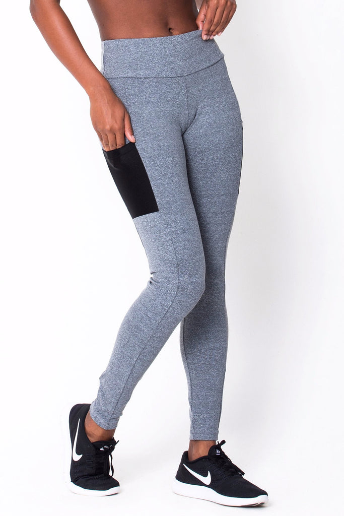 8e0ae4de8f866 Heather Grey Work It Legging Clothes | RomanceUSA