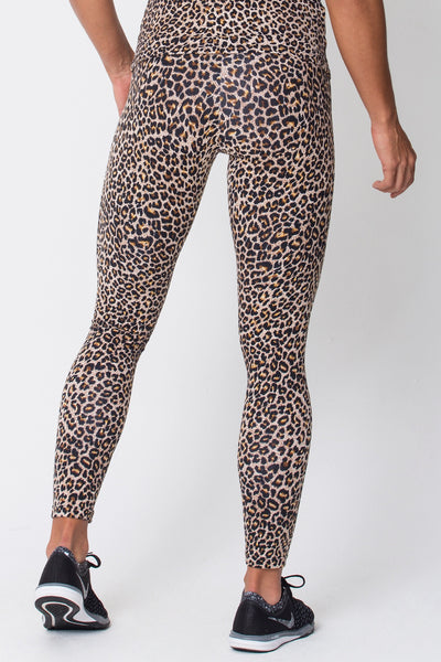 Bottoms Leopard Print Legging - Womens Activewear and Workout Clothes | RomanceUSA