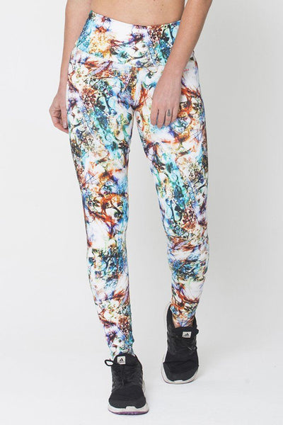 Bottoms Marble Print - Womens Activewear and Workout Clothes | RomanceUSA