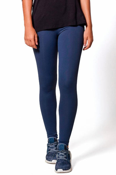 Bottoms Navy Basic Legging - Womens Activewear and Workout Clothes | RomanceUSA