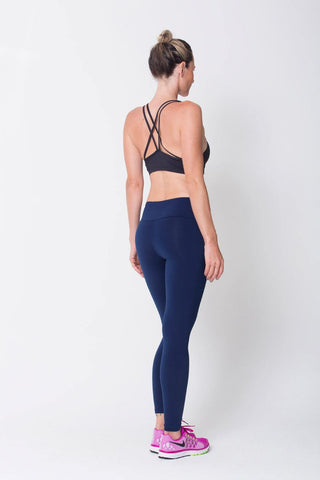 Bottoms,Navy Essential Legging