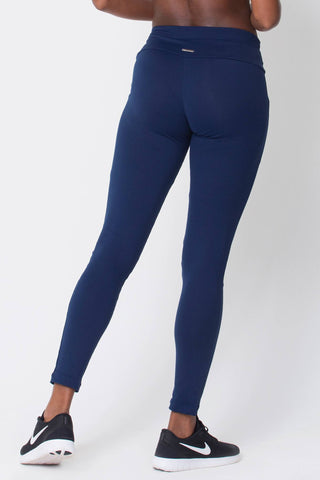 Bottoms,Navy Pocket Legging
