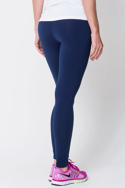 Bottoms Navy Riding Seam Legging - Womens Activewear and Workout Clothes | RomanceUSA