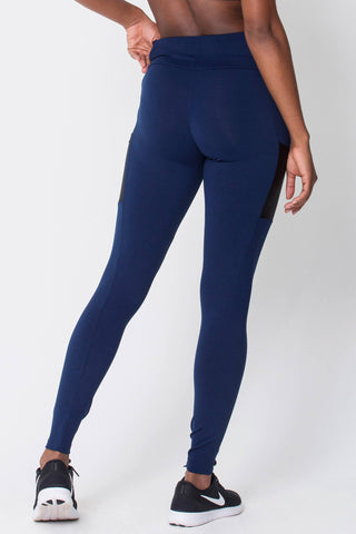 Bottoms,Navy Work It Legging