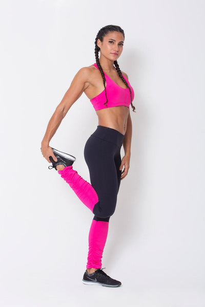 Bottoms Pink Legwarmer Legging - Womens Activewear and Workout Clothes | RomanceUSA