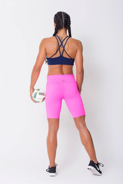 Bottoms Pink	Long Shorts - Womens Activewear and Workout Clothes | RomanceUSA