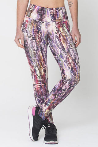 Bottoms,Purple Snake Print