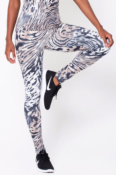 Bottoms Tiger Print - Womens Activewear and Workout Clothes | RomanceUSA