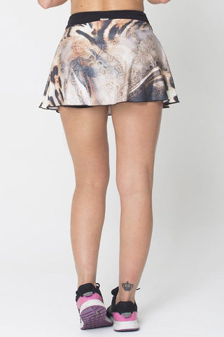 Bottoms,Tiger Print Skort