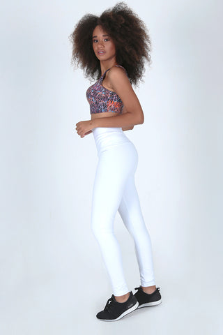 Bottoms,White High Up Legging