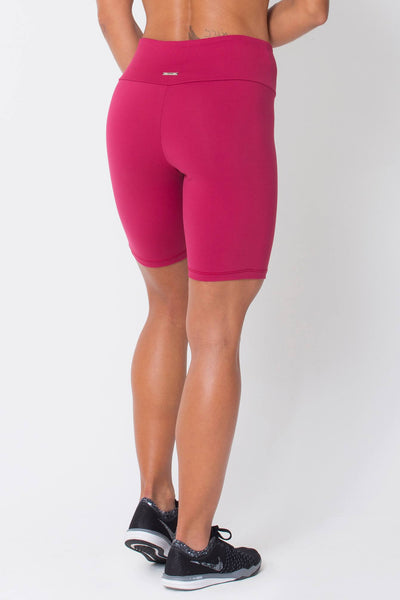 Bottoms Wine Long Shorts - Womens Activewear and Workout Clothes | RomanceUSA