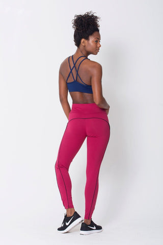 Bottoms,Wine Viva Legging
