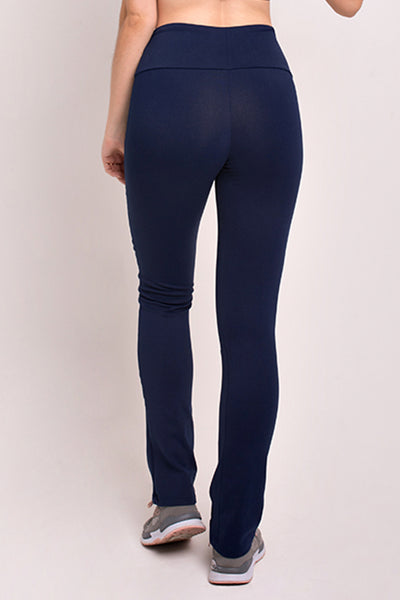 Bottoms Navy 4 Zipper Pant - Womens Activewear and Workout Clothes | RomanceUSA
