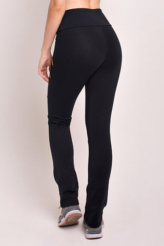 Bottoms,Black 4 Zipper Pant
