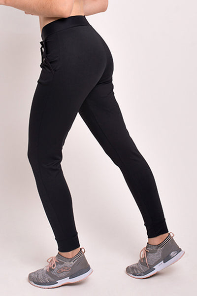 Bottoms Black Jogger - Womens Activewear and Workout Clothes | RomanceUSA