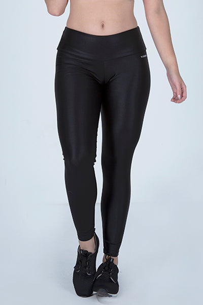 Bottoms Black Cirre Legging - Womens Activewear and Workout Clothes | RomanceUSA