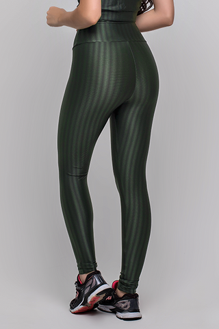 Bottoms,Military Green 3D Disco Leggings