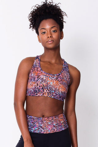 Tops,Animal Print Pro Sports Bra