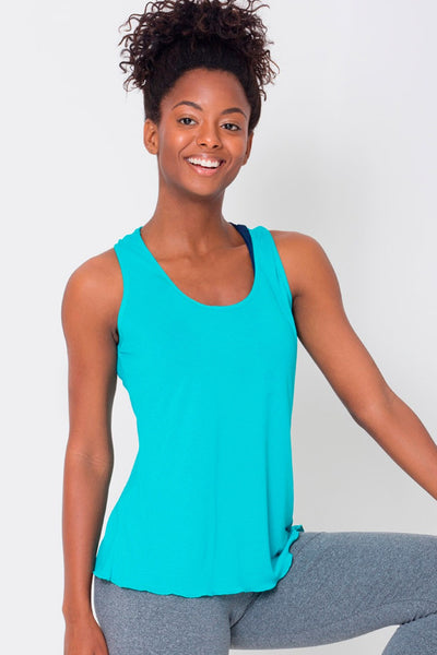 Tops Atoll Crossover Back Tank - Womens Activewear and Workout Clothes | RomanceUSA