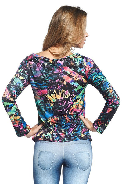 Tops Color Long Sleeve - Womens Activewear and Workout Clothes | RomanceUSA