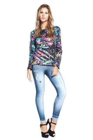 Tops,Color Long Sleeve