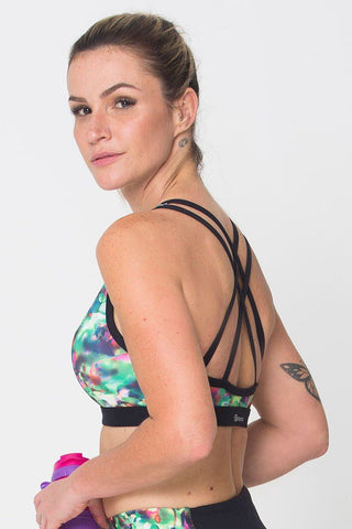Tops,Energy Green Sports Bra