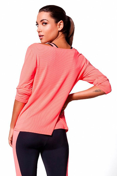 Tops Peach Pro Shirt - Womens Activewear and Workout Clothes | RomanceUSA