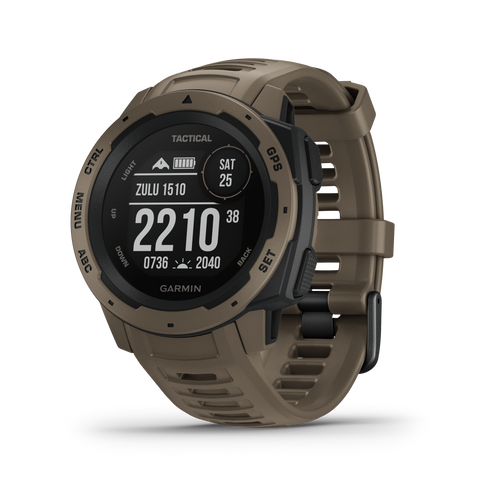 Garmin Instinct® – Tactical Edition- Coyote Tan 010-02064-71