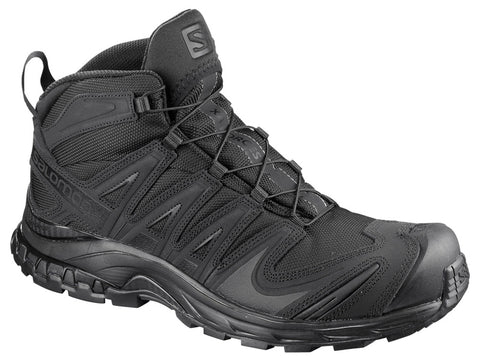 SALOMON  SHOES XA FORCES MID Black/Black/Black  L40137700