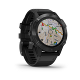 Garmin fēnix® 6 - Pro- Black with Black Band 010-02158-01