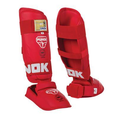 PUNOK KARATE SHIN-INSTEP GUARD - WKF APPROVED